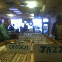 Photo taken at Val's Halla Records by Maureen on 1/11/2013