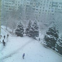 "Photo taken at Liceul Teoretic ""Mihai Grecu"" by Dasha K. on 2/5/2014"