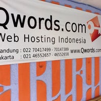 Photo taken at Qwords.com Web Hosting Indonesia - Bandung Office by Dede Anto S. on 6/21/2013