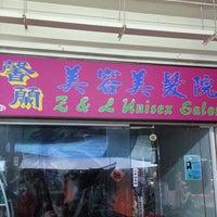 Photo taken at Z & L Unisex Salon by Ichiro S. on 12/15/2012