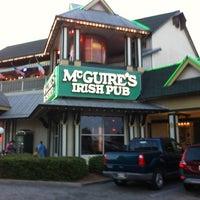 Photo taken at McGuire's Irish Pub of Destin by Sabrina S. on 5/20/2013