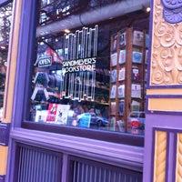 Photo taken at Sandmeyer's Bookstore by Sabrina S. on 5/15/2013