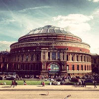 Photo taken at Royal Albert Hall by Trojan G. on 6/13/2013