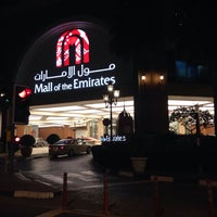 Photo taken at Mall of the Emirates Mosque by Dasha K. on 3/9/2015