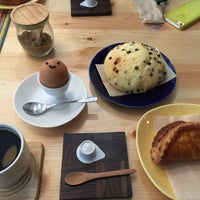Photo taken at まるせきカフェ by Makoto A. on 5/24/2015