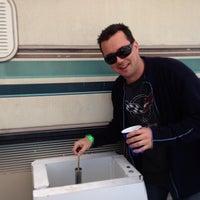 Photo taken at Corvette Racing @ 12 Hours of Sebring by Jon-Paul C. on 3/15/2013