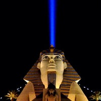 Photo taken at Luxor Hotel & Casino by Jon-Paul C. on 2/19/2013