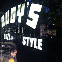Photo taken at Rudy's Barbershop by Gyu Young J. on 10/7/2012