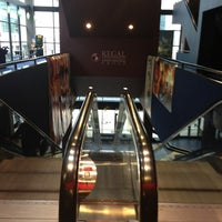 Photo taken at Regal Cinemas Meridian 16 by Gyu Young J. on 2/16/2013