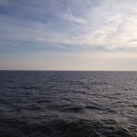 Photo taken at Cedar Island Ferry by Josh F. on 2/17/2014