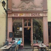 Photo taken at Au Croissant Doré by Tobias A. on 6/28/2013
