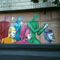Photo taken at Центр сучасного мистецтва «Дах» by Olesya on 6/15/2013