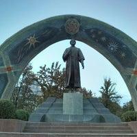 Photo taken at Парк Рудаки / Rudaki Park by Mutlu G. on 10/24/2016