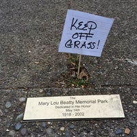 Photo taken at Mary Lou Beatty Memorial Park by Elliot L. on 7/6/2014