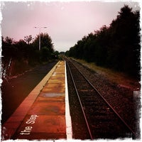 Photo taken at Rose Grove Railway Station (RSG) by Adam W. on 9/3/2013