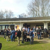 Photo taken at Rugbyclub 't Gooi by Eric L. on 4/27/2013