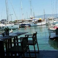 Photo taken at Varoulko Seaside by Giorgos N. on 5/31/2015