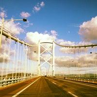 Photo taken at Onaruto Bridge by ใหม่ A. on 12/24/2012