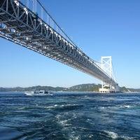 Photo taken at Onaruto Bridge by ใหม่ A. on 10/25/2013