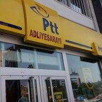 Photo taken at Ptt Adliye Şubesi by Ahmet B. on 9/2/2015