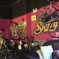 Photo taken at Siempre Bicycle Cafe by Loda on 4/14/2015