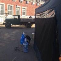 Photo taken at Автобусный парк №4, ПАТП by Natta M. on 6/6/2014