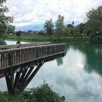 Photo taken at Bürgerau See by Patrick B. on 9/17/2017