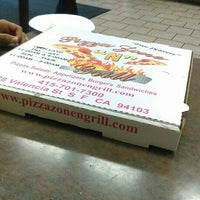 Photo taken at Pizza Zone 'N' Grill by DaShon M. on 7/9/2016