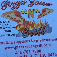Photo taken at Pizza Zone 'N' Grill by DaShon M. on 4/26/2016