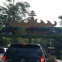 Photo taken at Taman Wisata Lembah Hijau by Didik K. on 7/31/2014