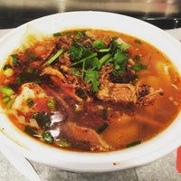 1/14/2016 tarihinde Angie S.ziyaretçi tarafından Xi'an Famous Foods'de çekilen fotoğraf