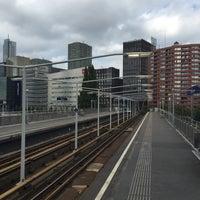 Photo taken at Metrolijn E (Den Haag Centraal) by Adri N. on 9/11/2016