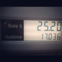 Photo taken at GetGo Gas Station by John W. on 12/19/2012