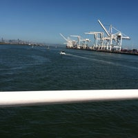 Photo taken at San Francisco Bay Ferry - Alameda Main Street Terminal by Napoleon on 6/30/2013