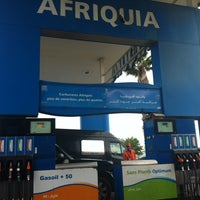 Photo taken at Station Afriquia by Mohamed amine M. on 4/24/2012