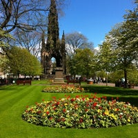 Photo taken at West Princes Street Gardens by Shelova on 5/12/2012