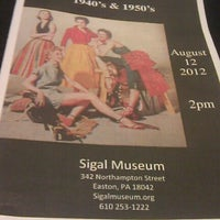 Photo taken at Sigal Museum and Northampton County Historical and Genealogical Society by matt m. on 8/12/2012