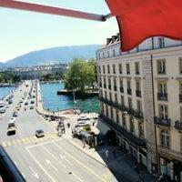 Photo taken at Hotel Bristol Geneva by A. on 7/5/2013