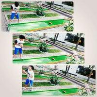 Photo taken at Alanya mini golf park by Sebahat E. on 4/24/2016