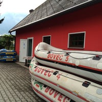 Photo taken at Bovec Rafting Team by Вячеслав Ю. on 6/29/2014