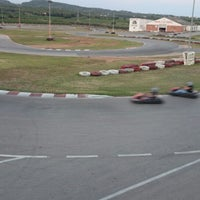 Photo taken at Karting Club Vendrell by Joan V. on 7/26/2014