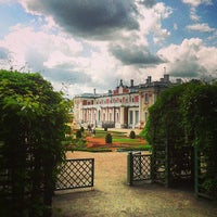 Photo taken at Kadriorg Palace by Evgenia K. on 6/8/2013