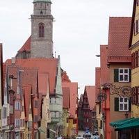 Photo taken at Münster St.Georg Dinkelsbühl by r_norvegicus345 on 4/12/2015