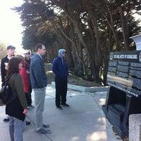 Photo taken at USS San Francisco Memorial by Liz W. on 1/1/2013