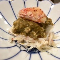 Photo taken at Sushi Shin 鮨辰日本料理 by Natalie F. on 3/30/2016