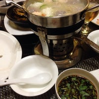Photo taken at Shining Hotpot by Виктория С. on 11/21/2014