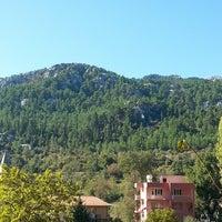 Photo taken at cendeve köyü akseki by Mert A. on 10/5/2014
