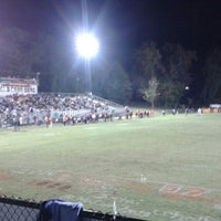 Photo taken at Clinton HS Football Field by Clayton H. on 10/31/2015