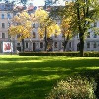 Photo taken at Jēkaba laukums by Ladiis M. on 7/30/2013