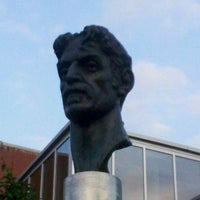 Photo taken at Frank Zappa Statue by Ladiis M. on 8/16/2013